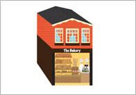 3D Model Building: Bakery