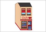 3D Model Building: Cafe