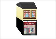 3D Model Building: Clothes Shop
