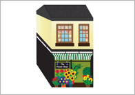 3D Model Building: Flower Shop