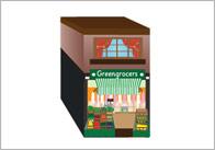 3D Model Building: Greengrocers