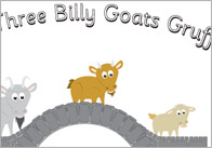 Three Billy Goats Gruff Simple Visual Aids