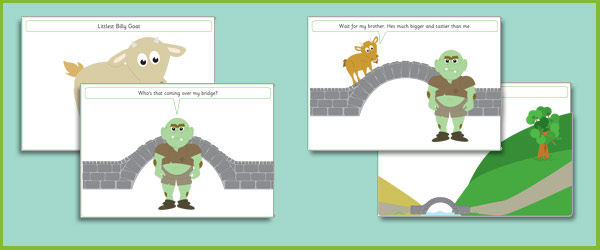 Three Billy Goats Gruff Simple Visual Aids | Free Early Years ...