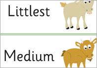 Three Billy Goats Gruff Keyword Cards