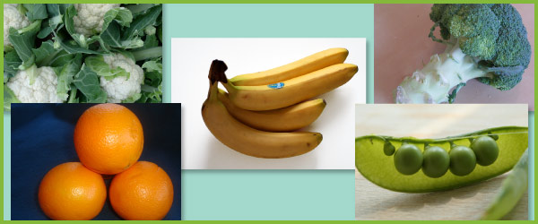 Food Group Photos: Fruit and Vegetables