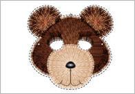 Goldilocks and the Three Bears Role-Play Masks