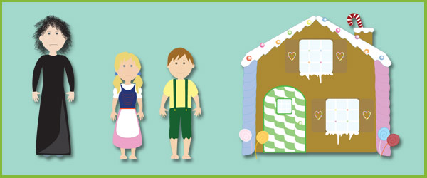 Hansel and Gretel Story Cut-Outs | Free Early Years & Primary ...