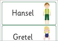 Hansel and Gretel Keyword Cards