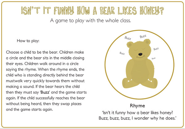 Bears Like Honey Bear Likes Honey Game /