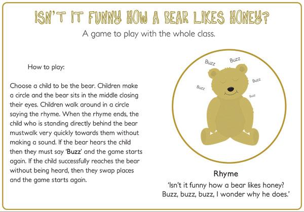Bears Like Honey Bear Likes Honey Game /