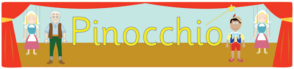 Pinocchio Display Banners