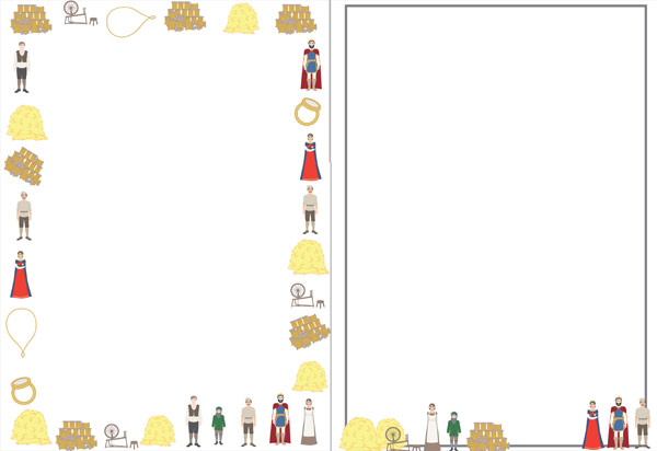 Rumpelstiltskin Themed Notepaper Free Early Years