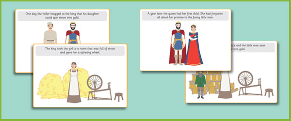 Rumpelstiltskin Story Sequencing Cards Free Early Years