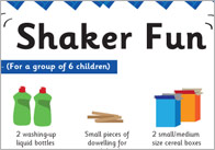Shaker Fun 1 Early Years Craft Activity: Create A Shaker