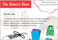 The Giant Shoe 1 The Giants Shoe Activity