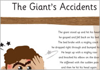 The Giant's Accidents Poem