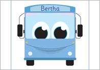 Bertha Bus Alliteration Set