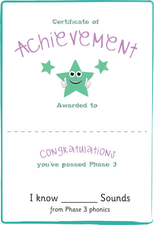 Phase 3: Certificate