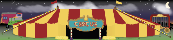 Circus Small World Play Background
