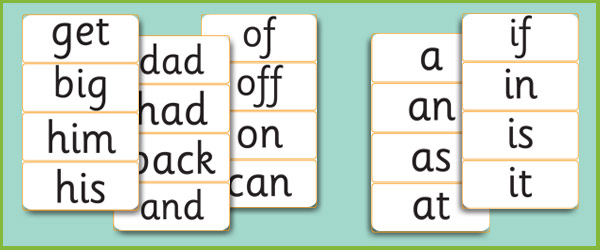 Letters And Sounds Phase Words
