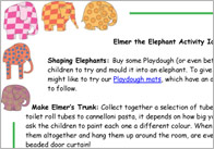 Elmer Activity Ideas