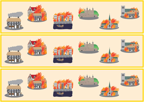 Great Fire Of London Display Borders | Free Early Years & Primary ...
