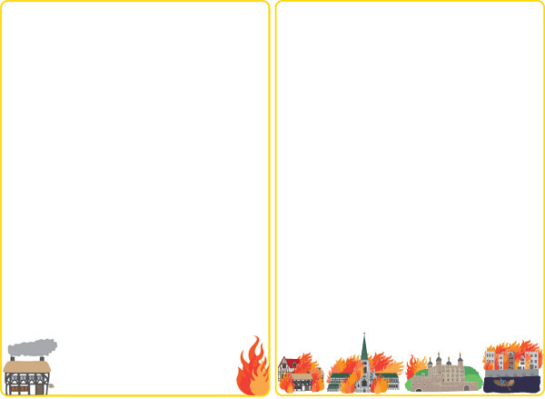 Great Fire Of London Notepaper