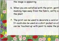 Flower hammering