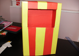 Craft Project: Cereal Box Theatre