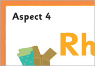Phase 1 Aspect 4 Banner 1 Phase 1: Aspect 4 (Rhythm and Rhyme) Banner
