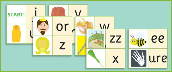 Phase 3: Phoneme Mnemonic Loop Cards