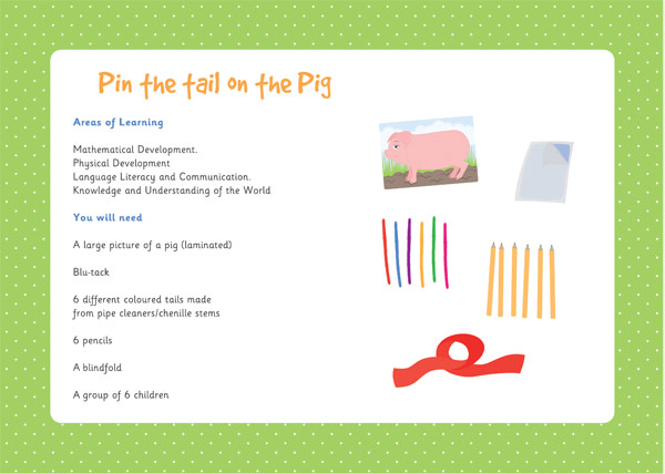 pin the tail on the dinosaur template - pin the tail on the pig three little pigs activity