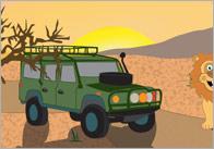 Safari small world background