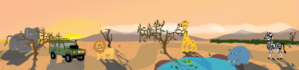 Safari Small World Play Background