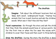 The Gruffalo Activity Ideas