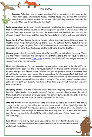 The Gruffalo Activity Ideas Early Years And Ks1 Free Early Years