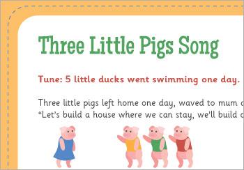 Who's Afraid of the Big Bad Wolf? (Three Little Pigs) Lyrics