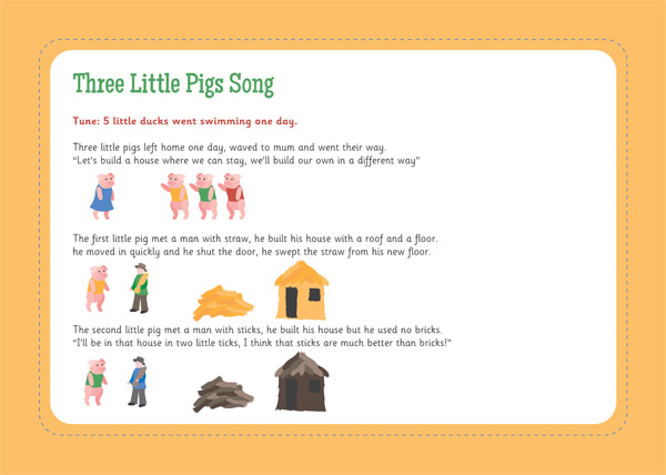 Three Little Pigs Song