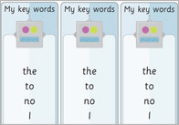 Phase 2: Tricky Words Bookmarks