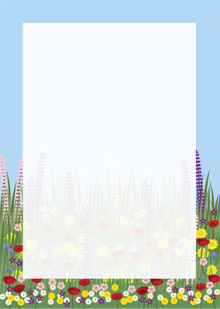 Wildflower Notepaper