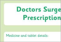 Prescription doctors role-play