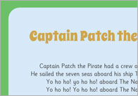Captain Patch the Pirate 1 Captain Patch the Pirate Song