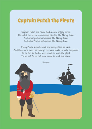 Captain Patch the Pirate Song