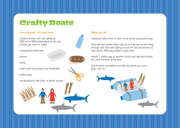 Crafty Boats Activity