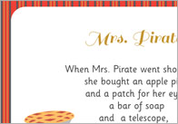 Mrs Pirate Song