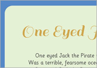 One Eyed Jack – Illustrated Poem