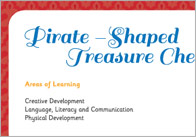 Pirate Treasure Chest Activity