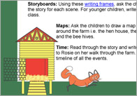 Rosies Walk activities 1 Rosies Walk Story Activities