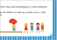 Walk the Plank Pirate Activity