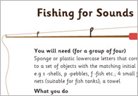 Fishing for Sounds Activity